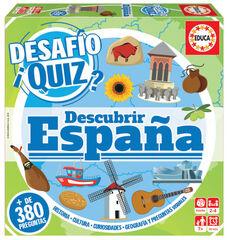 Desafío Quiz Descubrir España Educa