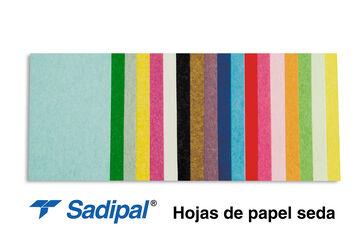 Papel de Seda Sadipal 520x760 mm Blanco