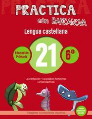 PRACTICA LENGUA 21 Barcanova Quaderns 9788448945466