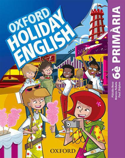 HOLIDAY ENGLISH 6 PRIM 3ED REV Oxford 9780194546454