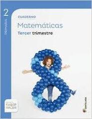 Matemáticas-cuaderno 3/15 PRIMÀRIA 2 Santillana Text 9788468017952