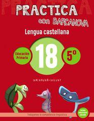 PRACTICA LENGUA 18 Barcanova Quaderns 9788448945435