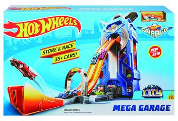 Hot Wheels Mega garaje
