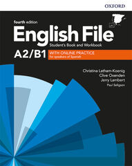 ENGLISH FILE P-INT SBWB W/O KEY PK 4ED Oxford 9780194037457