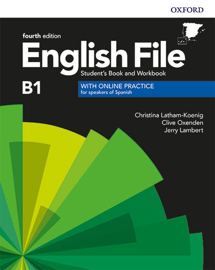 ENGLISH FILE INT SBWB W/KEY PK 4ED Oxford 9780194058063