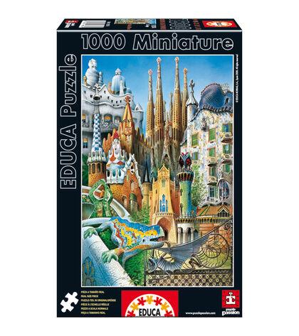 Puzzle Educa Miniature disfrute collage