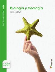 BIOLOGÍA Y GEOLOGÍA 1º BACHILLERATO Santillana Text 9788468033075