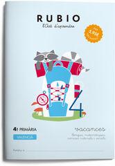 VACANCES 4t PRIMÀRIA Rubio 9788416744305