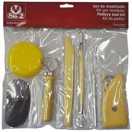 Accesorios modelaje Sio-2 8 piezas