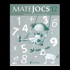 MATEJOCS 12 4t PRIMÀRIA Salvatella 9788484127963