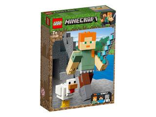 Lego Minecraft Àlex con gallina