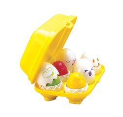 Juguete Tomy Huevos encajables con formas