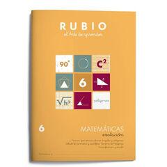 MATEMÁTICAS EVOLUCIÓN 6 FORMAS PRIMARIA Rubio 9788485109852
