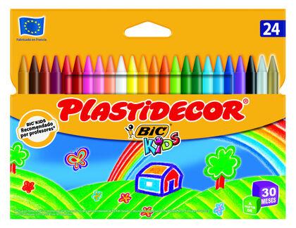 Plastidecor - Caja 24 colores