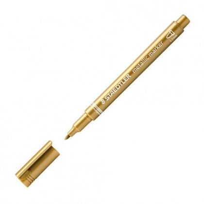 Rotulador Staedtler Metallic marker  Oro