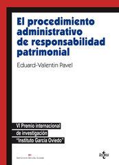 El procedimiento administrativo de responsabilidad patrimonial