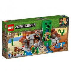 Lego Minecraft Mina del Creeper