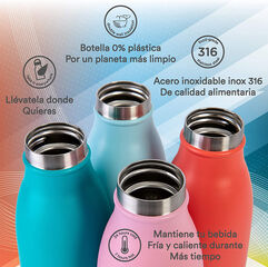Botella Termo Runbott City Rojo 350 ml
