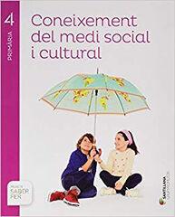 Medi social/Saber Fer PRIMÀRIA 4 Grup Promotor Text 9788491302896