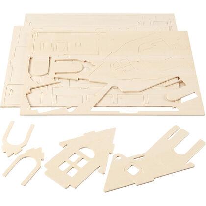 Maqueta Creative casa 3D rampa