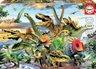 Puzzle Educa Dinosaurios