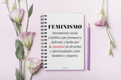 Libreta espiral Wire deficinición feminismo Castellà A5