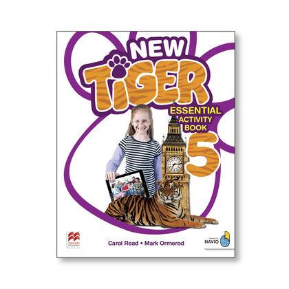 New Tiger 5/Essential AB PRIMÀRIA 5 Macmillan-Text 9781380011213