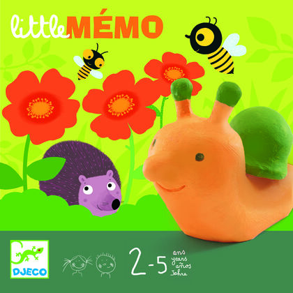 Juego de memoria Djeco Little Memo