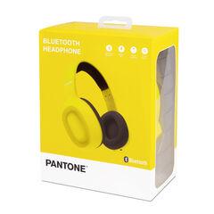 Auriculares Pantone Diadema BT Azul / Amarillo