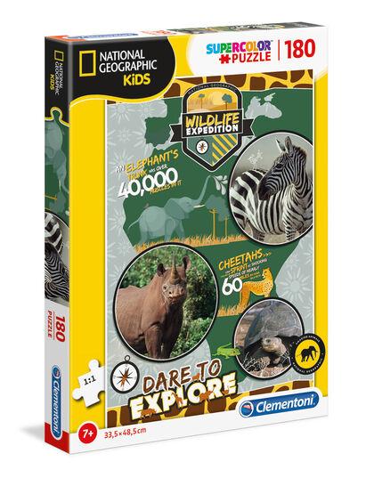 Puzzle National Geographic - Wildlife Expedition (180 piezas)