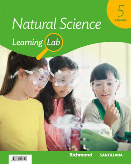 5PRI LEARNING LAB NAT SCIENCE ED19 Santillana Text 9788468051796