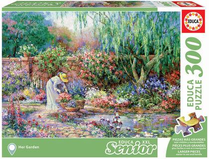 Puzzle Educa Senior jardín