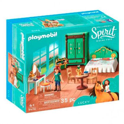 Playmobil Spirit Habitación de Lucky