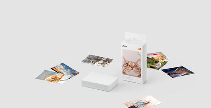 Mi Portable Photo Printer Papel (2x3-inch, 20 sheets)
