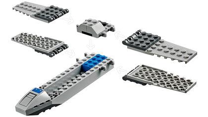 LEGO Star wars Ala-X de la Resistencia (75297)