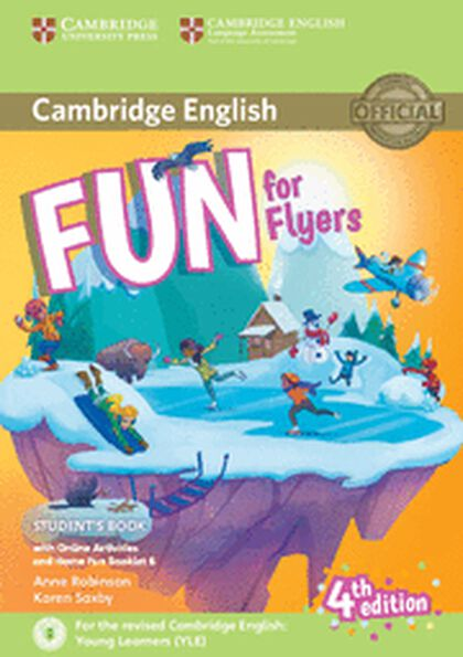 CUP Fun For Flyers 4E/Home Fun Booklet Cambridge 9781316617588