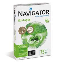Papel Navigator A4 75 gr Eco-Logical500 hojas