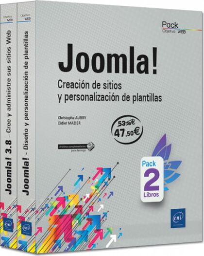 Joomla! - Pack 2 libros. Creación de sit