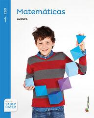 Matemáticas-Avanza/16 ESO 1 Santillana Text 9788468012773