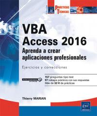 VBA Acces 2016