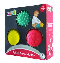 Balón Ludi Estimulación sensorial tacto aterciopelado 3U