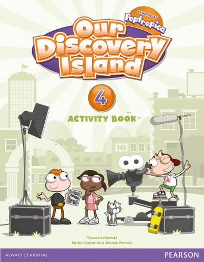 Discovery Island/AB pack PRIMÀRIA 4 Pearson 9788498377880