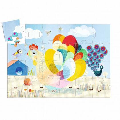 Puzzle Djeco Silueta Raoul Gallina