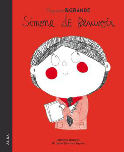 Pequeña y grande Simone de Beauvoir