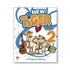 NEW TIGER 2. ACTIVITY BOOK Macmillan-Text 9781380009036