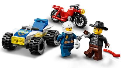 LEGO City Police  Policía: Persecución en Helicóptero (60243)