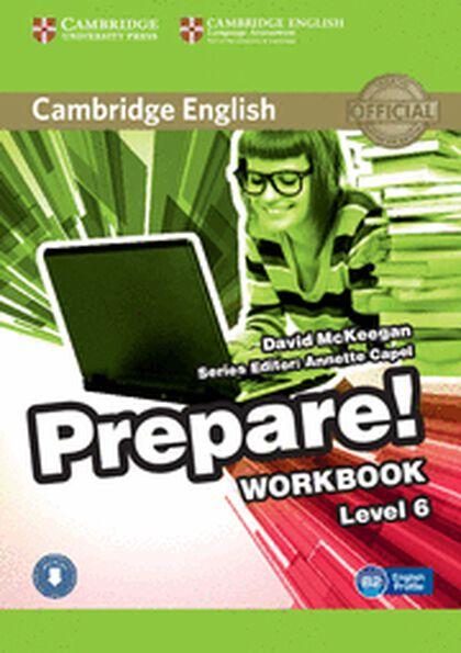 Prepare! 6/WB+CD B1-B2 Cambridge 9780521180320