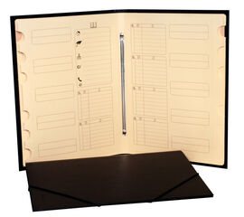 Carpeta clasificadora Abacus 12 divisiones Folio