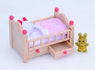 Ambientes Sylvanian Families Cuna bebé
