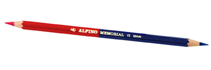 Lápiz Memorial Bicolor